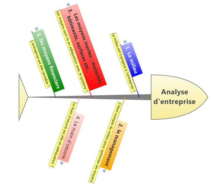 Analyse d'entreprise 5m